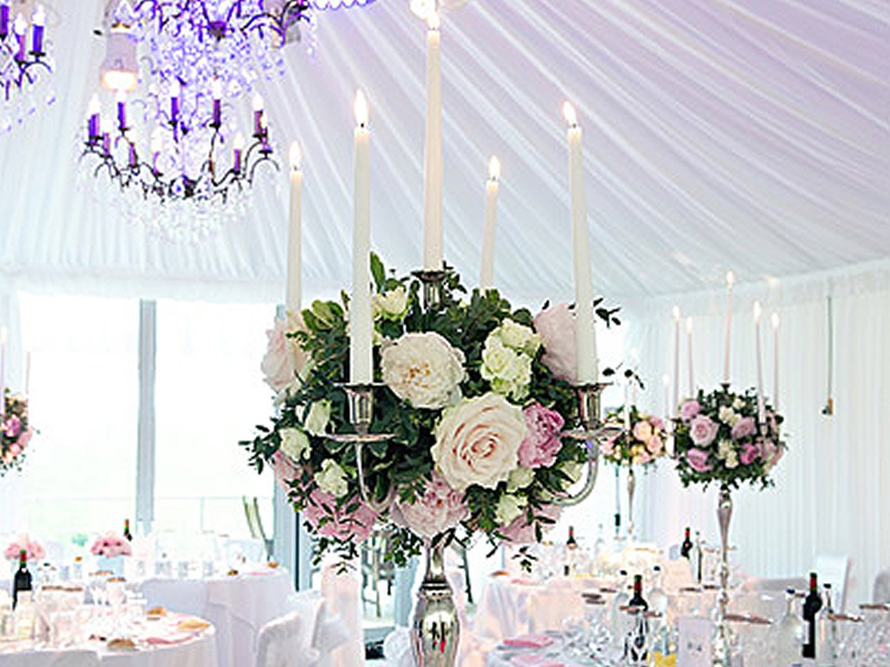 Marquee styling & dressing in Cheshire