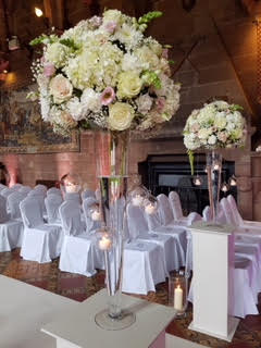 Dreamweavers Venue Stylists at Peckforton Castle, Cheshire
