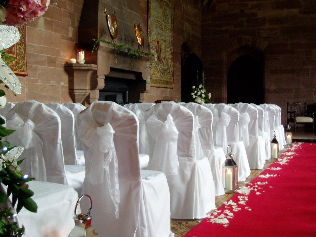 Dreamweavers Weddings have styled & dressed various events & weddings at Peckforton Castle, Stone House Lane, Peckforton, Tarporley, Cheshire