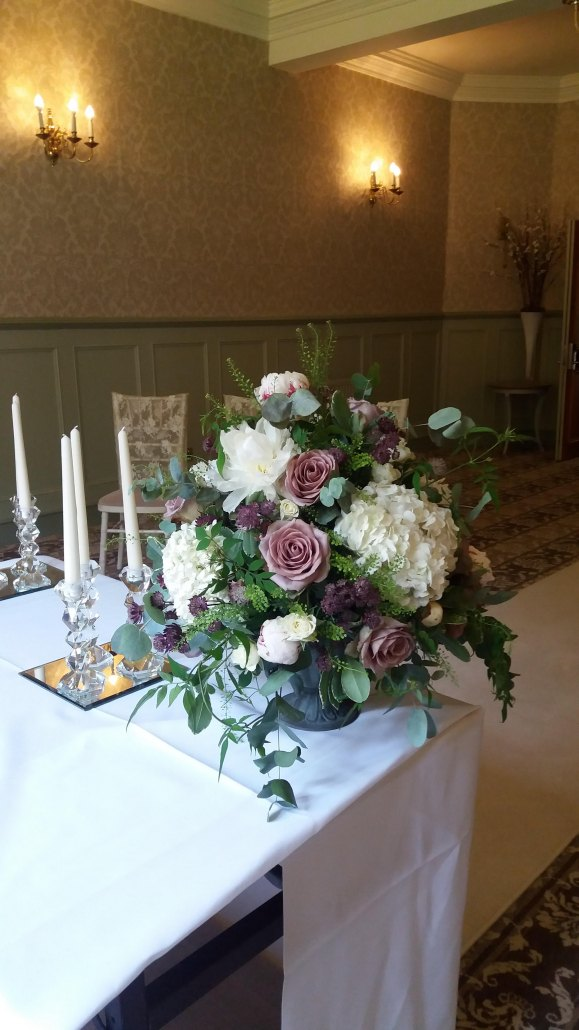 Dreamweavers Venue Stylists at Nunsmere Hall Hotel, Cheshire